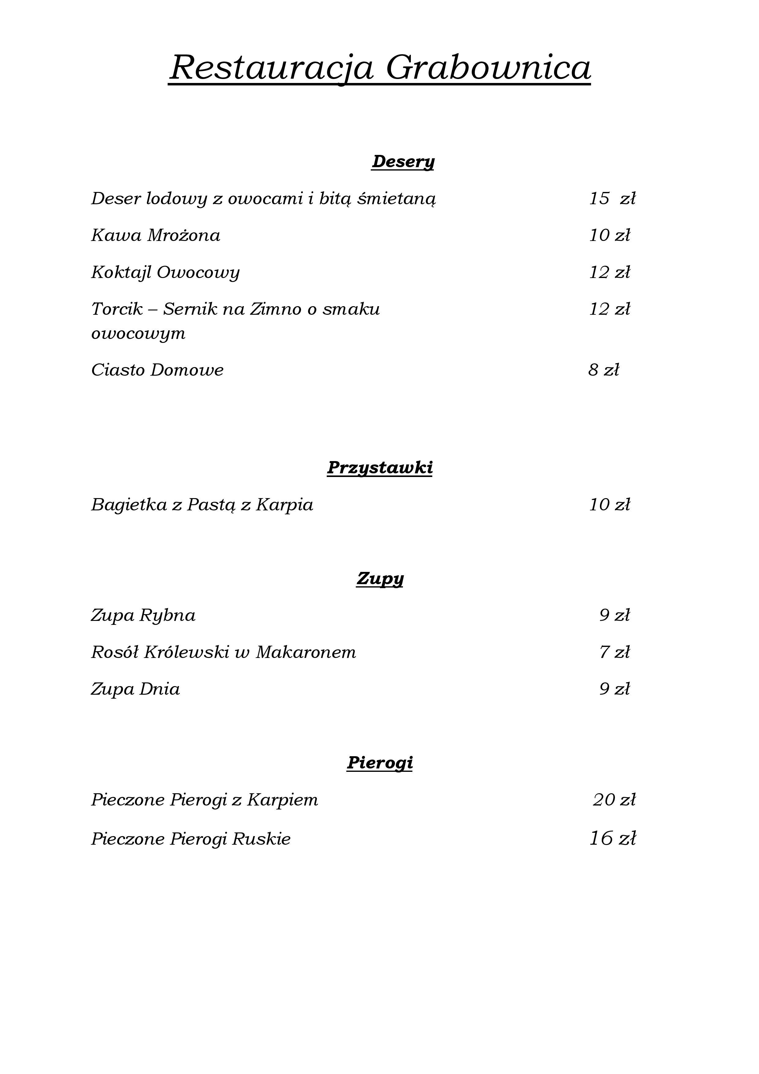 Menu RESTAURACJA GRABOWNICA MAJ 2018-page-002